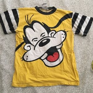 Vintage Late 80s/90s Walt Disney Co Goofy T Shirt